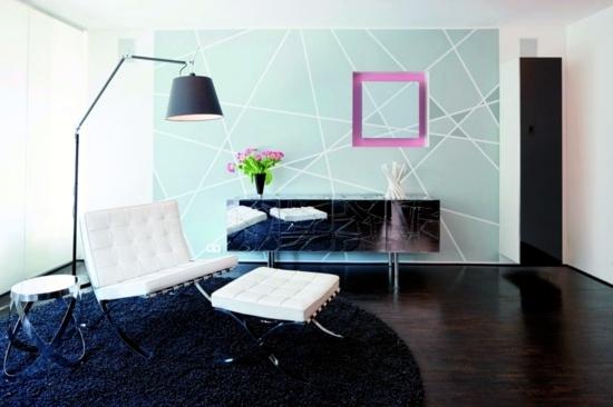Wohnzimmer einrichten - Modern Living Room - 50 decorating ideas with a twist