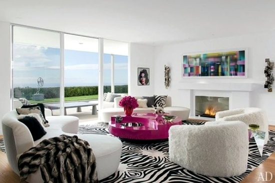 Modern Living Room - 50 decorating ideas with a twist