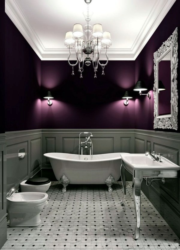 Bathroom wall color – fresh ideas for small spaces ...