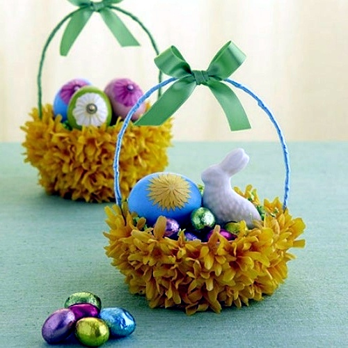 Send DIY ideas on how to craft a festive Easter basket ...