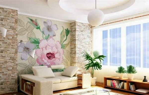 Cheap wall covering with artificial stone