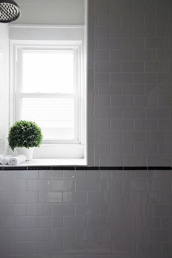 Badezimmer - Interior design ideas - green houseplants in the bathroom