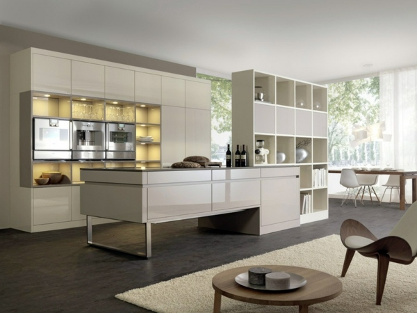Set up your modern kitchen with a cooking island