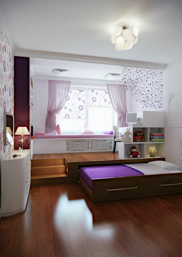 Betten - The pull-out bed - stay smart and space saving