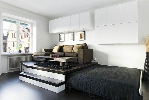 Schlafzimmer - The pull-out bed - stay smart and space saving