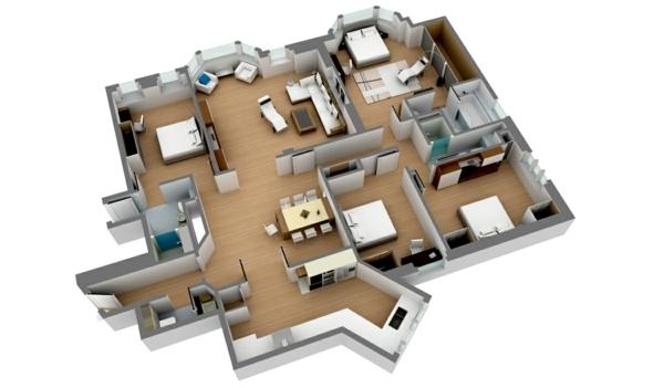 Innenarchitektur - Room Planner - free 3D room planner