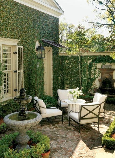 Garden Beautiful Outdoor Sitting