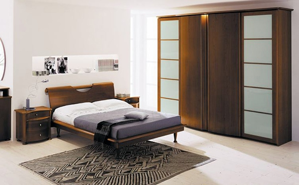 Schlafzimmer Ideen - Bedroom design and wall colors - charm and luxury in the bedroom