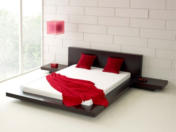 Bedroom design and wall colors - charm and luxury in the bedroom