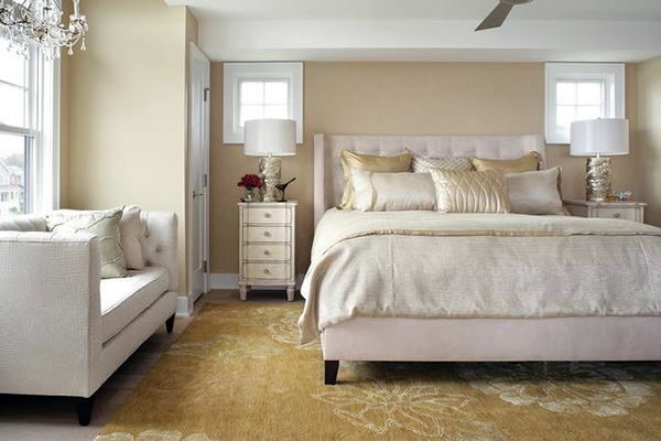 Schlafzimmer komplett - Bedroom design and wall colors - charm and luxury in the bedroom
