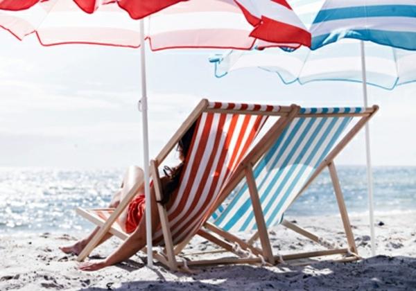 Außenmöbel - Beach chair Ikea - cheap lounge furniture for your beach trip