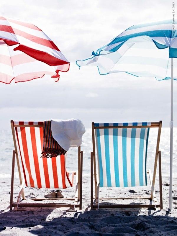Gartenmöbel - Beach chair Ikea - cheap lounge furniture for your beach trip