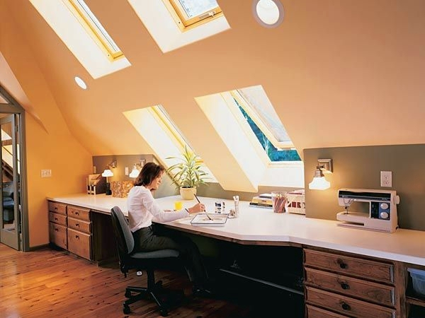 designed  comfortable rooms  sloping ceilings youth