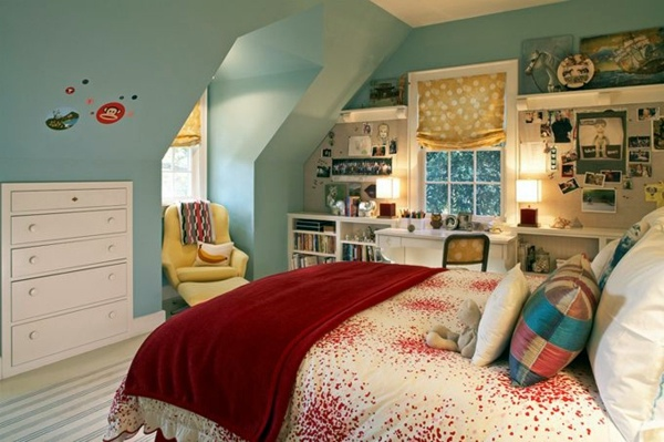Designed 20 Comfortable Rooms With Sloping Ceilings Youth Interior Design Ideas Avso Org