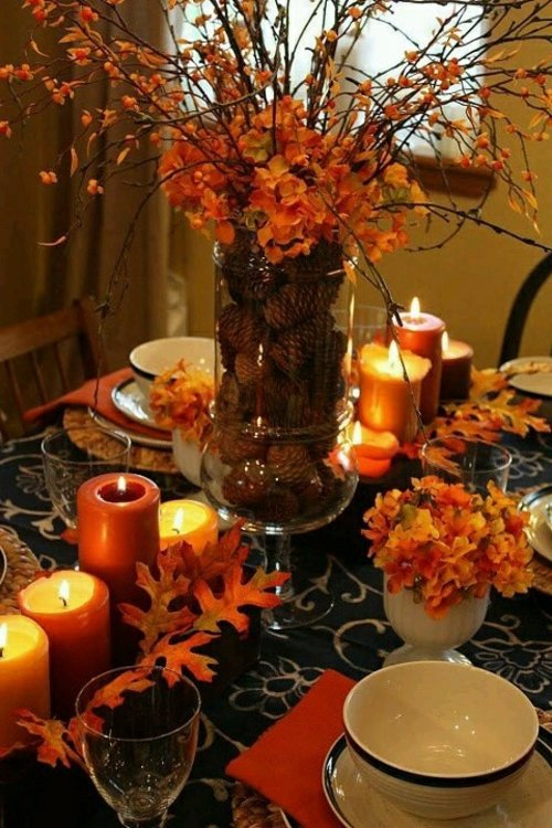30 Great Ideas For Table Decoration In Autumn