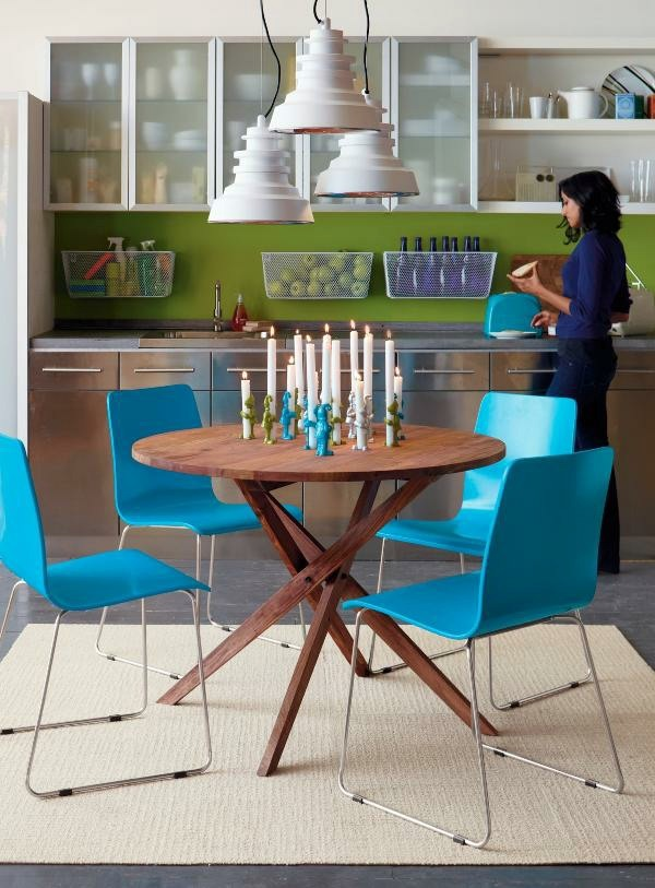 Esszimmer - 70 round dining tables that can totally transform any kitchen