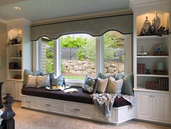 Innenarchitektur - Setup window niche cozy
