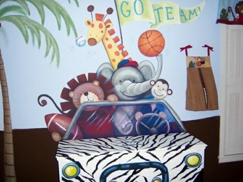 Nursery emphasize - 20 colorful decorating ideas