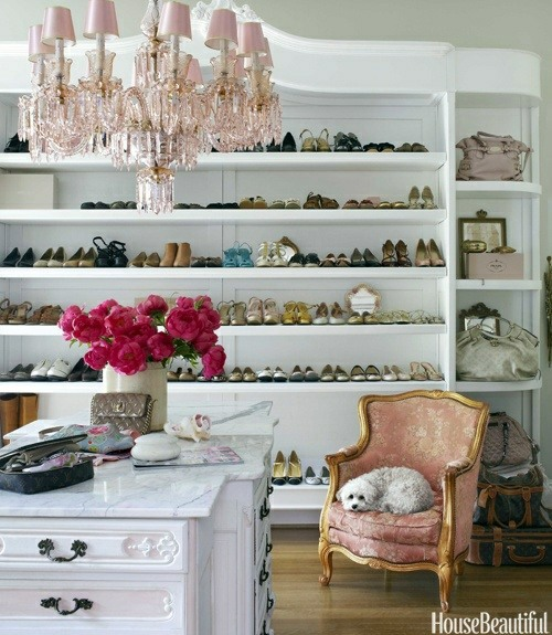 Dressing room design - 40 beautiful and fine ideas for your wardrobe