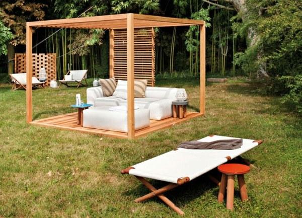 Garten und Landschaftsbau - Build pergola or how to build a gazebo itself