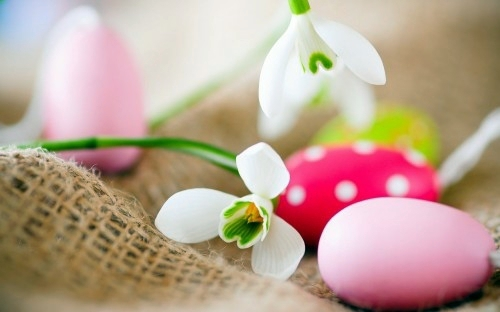 Osterdeko - Easter Decor in Pink and Purple tinker - 60 cool decorating ideas for you