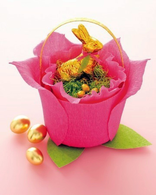 Ostern - Easter Decor in Pink and Purple tinker - 60 cool decorating ideas for you