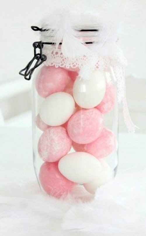 Easter Decor in Pink and Purple tinker - 60 cool decorating ideas for you