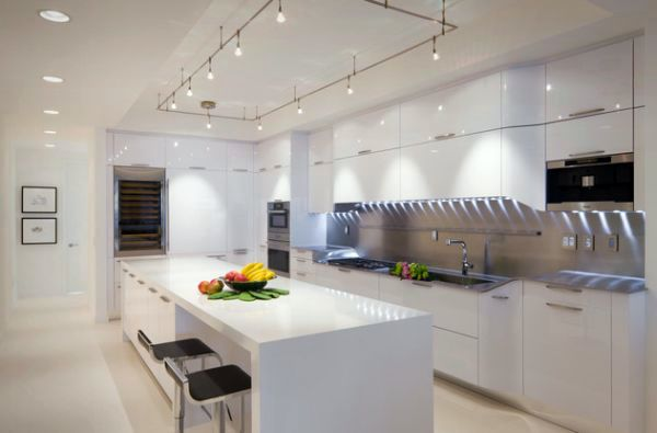 Send recessed lighting for modern interiors - stylish and inviting