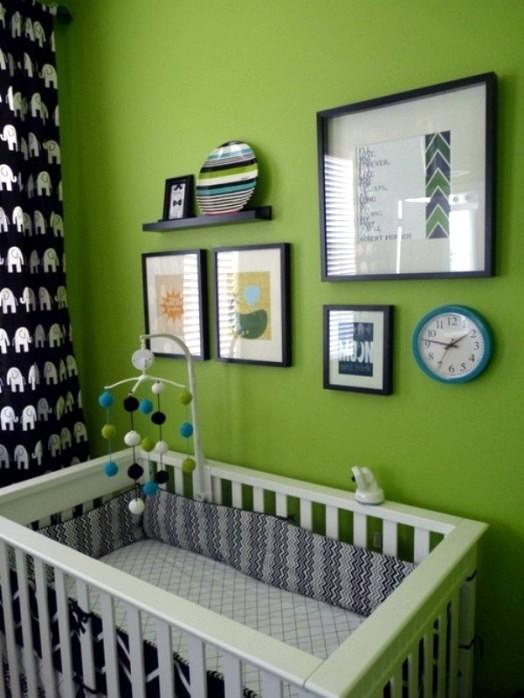 20 Green Nursery Interiors Which Act Inspiring Interior Design Ideas Avso Org