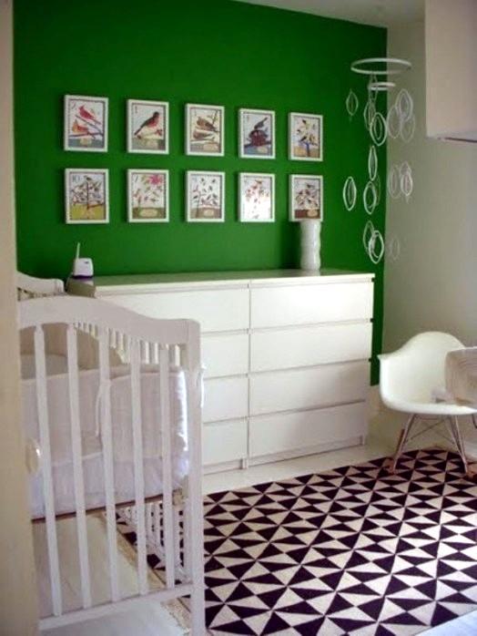20 Green Nursery Interiors Which Act Inspiring Interior