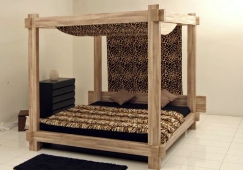 Popular 50 cool ideas for canopy beds made of wood in the bedroom | AVSO.ORG GA55