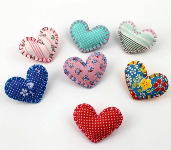 DIY - Do it yourself - Fabric heart sew by you - cool DIY ideas