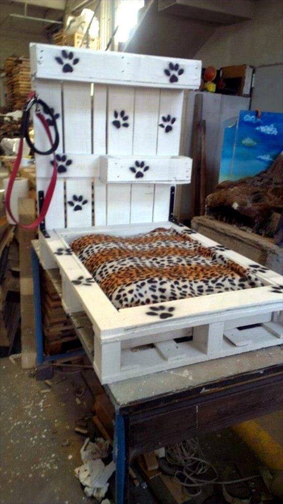 Diy Wooden Dog Beds From Euro Pallets Interior Design