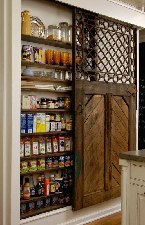 Einrichtungsideen - The pantry order - fast and easy organization system