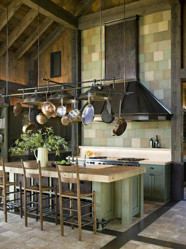 Hanging Pots And Pans Interior Design Ideas Avso Org