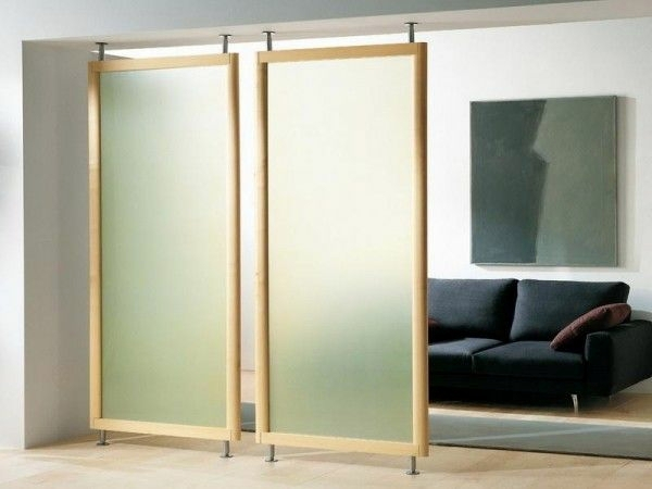 Wandgestaltung - Sliding doors as room dividers - more privacy in the small apartment