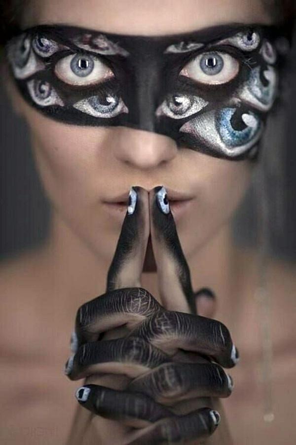 Halloween Deko - Cool Halloween makeup tips for a unique look