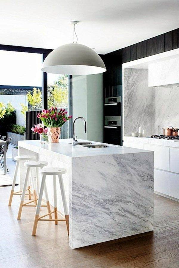 Plan Kitchen Decor In White Modern Interior Design Ideas Avso Org