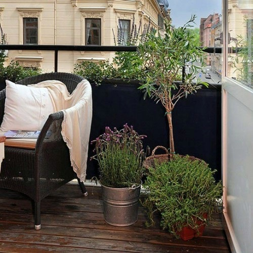 19 original ideas for a cozy balcony