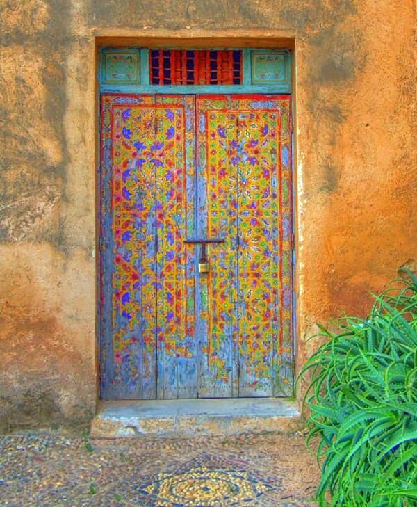 Top Beautiful house doors in country style – DIY door colors  WW68