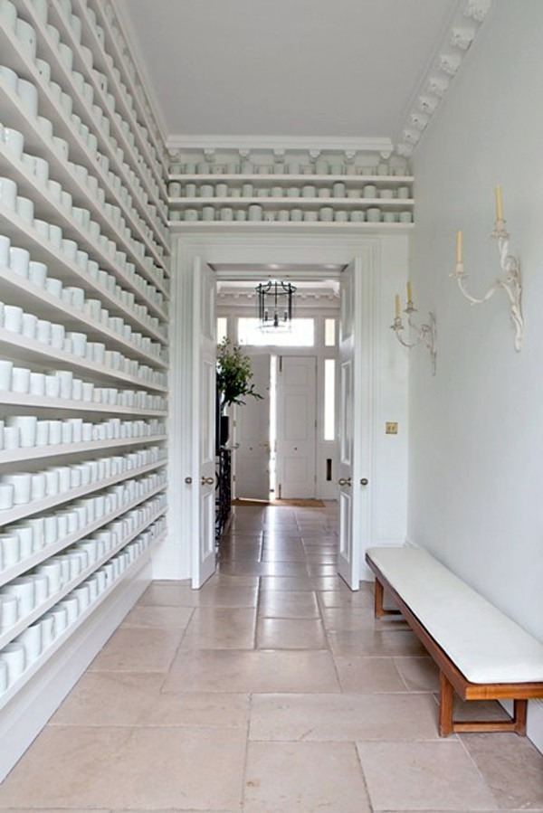 Wall in the hallway - 50 Interior design tips and ideas ...