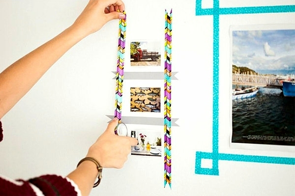 DIY - Do it yourself - Wanddeko do it yourself - DIY decorating ideas for crafters