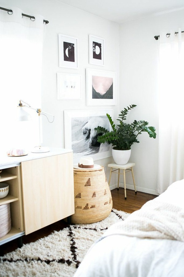 Schlafzimmer - Plants in the bedroom - potted flowers, which are particularly suitable for