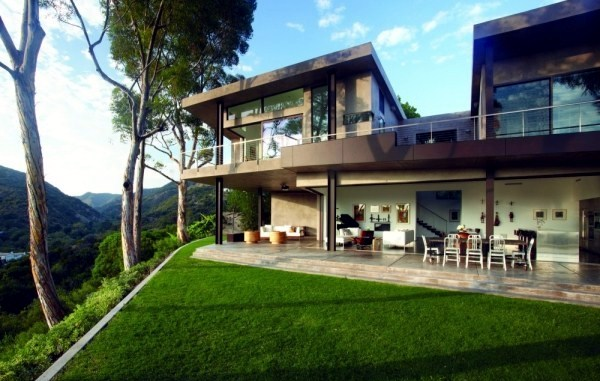 garage floor coating ideas - The Modern house on the hill and Magnificent views in the