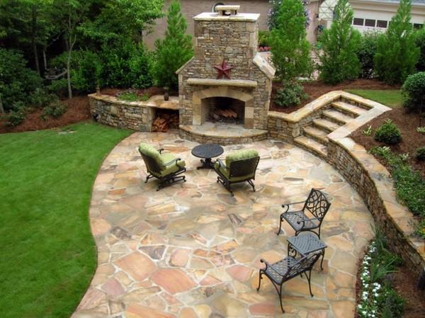 Gartengestaltung - Amazing and cool design in the backyard - garden design in eclectic style