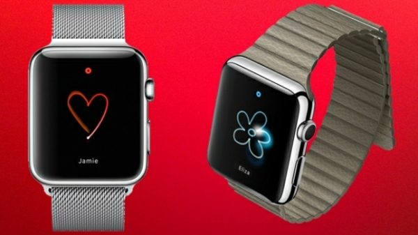 Art - Apple wristwatch makes life easier