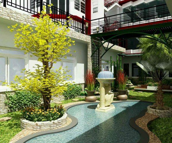 50 modern garden design ideas