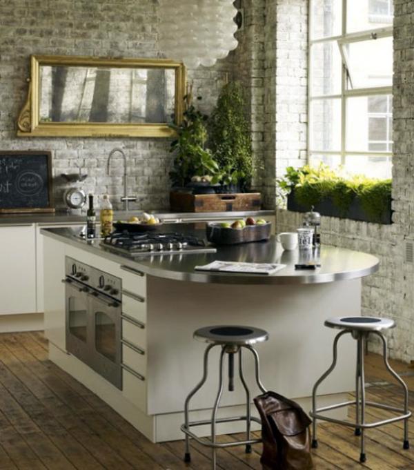 35 Fresh Kitchen Rear Wall Ideas For