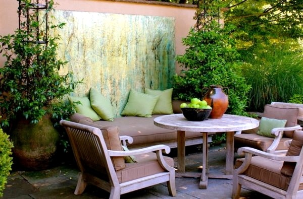 20 stylish ideas for outdoor seating area - a comfortable ... on Back Garden Seating Area Ideas id=65067