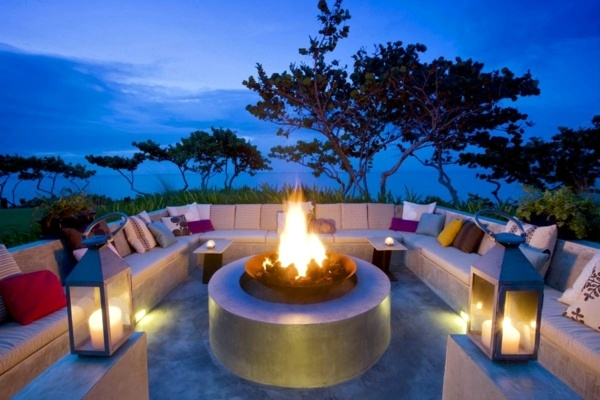 20 Stylish Ideas For Outdoor Seating Area A Comfortable Seating Area In The Garden Interior